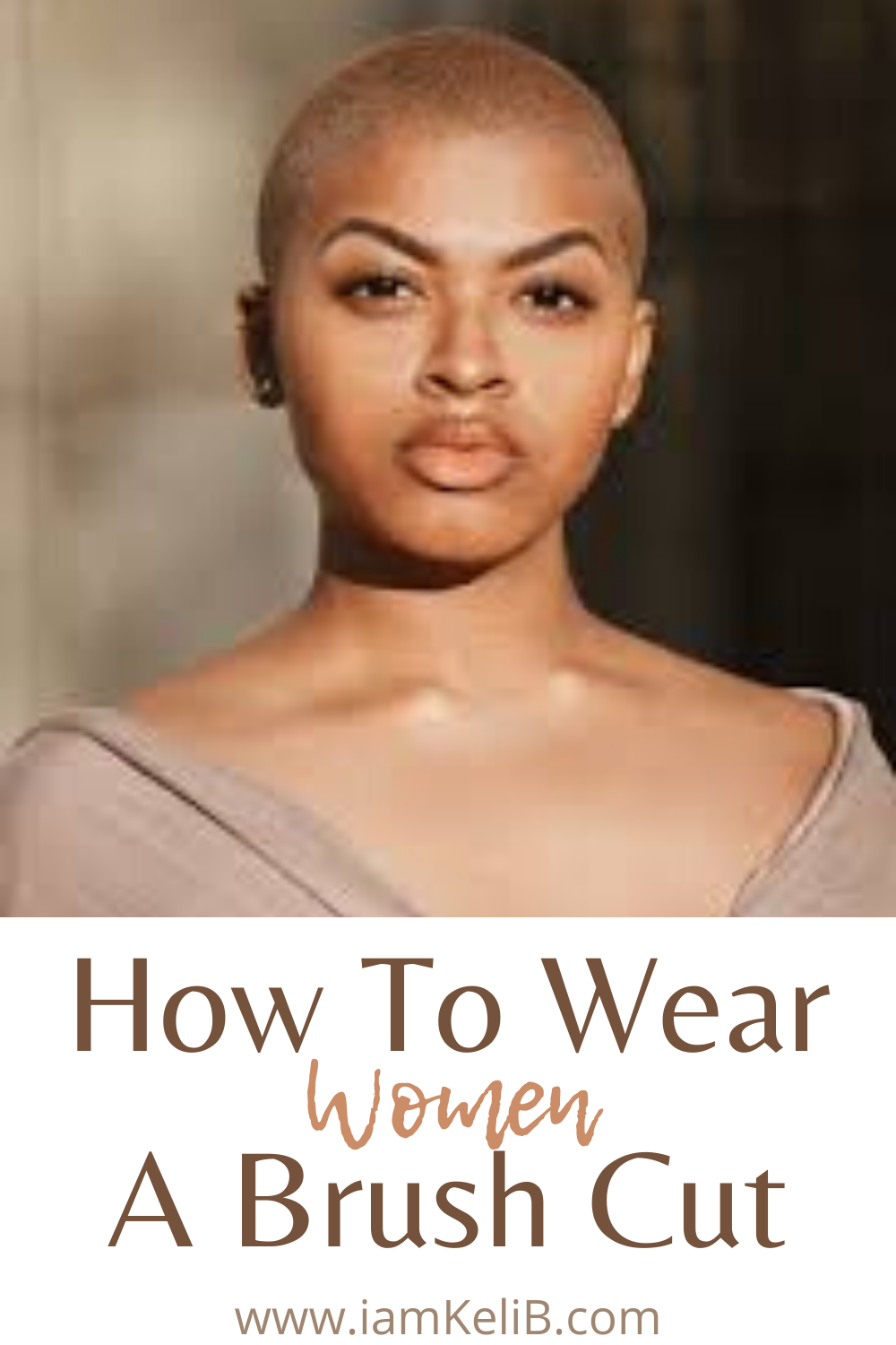 How To Wear A Brush Cut